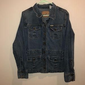 Levi Strauss denim jacket blue Levi jean jacket